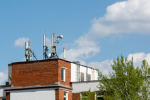 Antenna On The Roof. A Lot Of ...