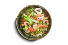 Healthy Salad Plate. Fresh Sea...