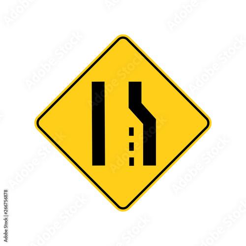 USA traffic road signs Wallpaper Mural