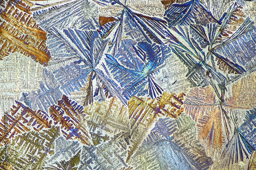 Abstract microscope image Wallpaper Mural