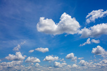 Skyscape Cloudscape Blue Sky W...
