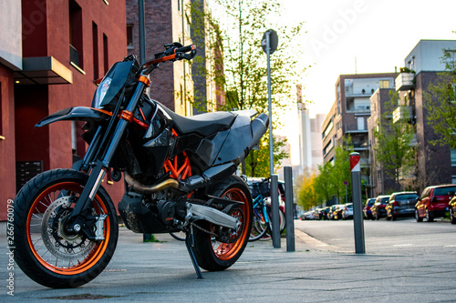KTM 690 SMC R in Frankfurt Canvas Print