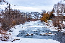 The Yampa River, In The Rocky ...