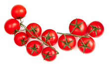 Cherry  Tomatoes  Isolated On ...