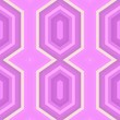 canvas print picture - simple modern seamless geometric hexagon style. violet, pastel pink and orchid colors. pattern illustration for wallpaper, fashion garment design, wrapping paper or texture