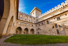 Palais Des Papes In Avignon, F...