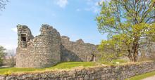 Inverlochy Castle In Fort William At Loch Linnhe Highlands Scotland