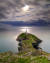 South Stack Lighthouse On Angl...