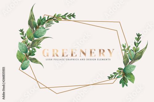 Obraz Greenery wallpaper - fototapety do salonu
