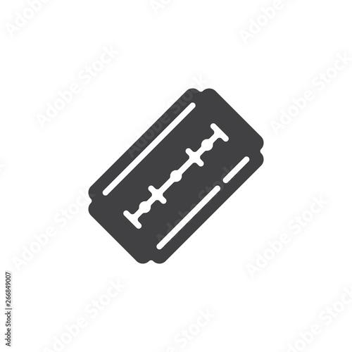 Blade razor vector icon Fototapete