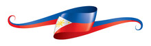 Philippines Flag, Vector Illus...