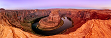 Horseshoe Bend Canyon And Colo...