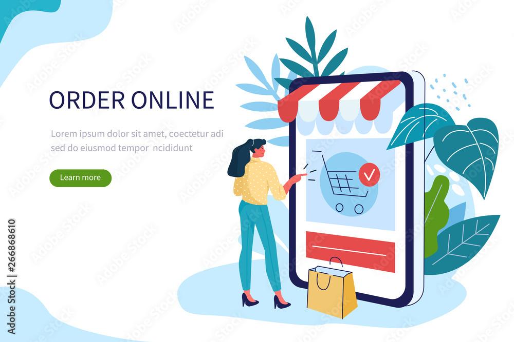 Fototapeta online shopping