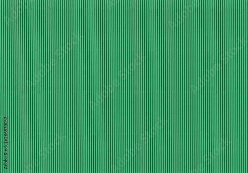 Foto  Corrugated colored cardboard green vintage color