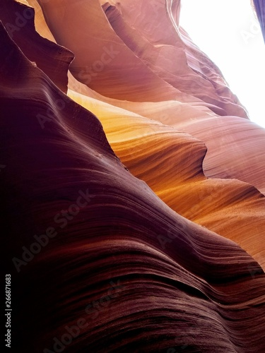 Exploring beautiful Antelope Canyon in Arizona USA