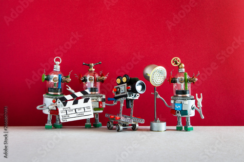 Valokuvatapetti Robotic filmmaking