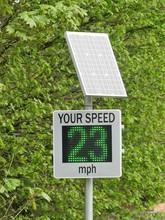 Solar Powered Speed Radar By C...