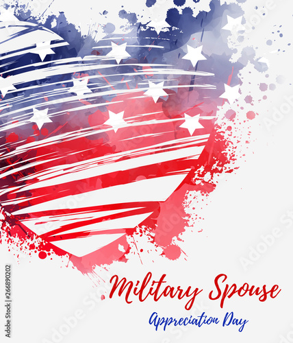 Photo Stands Wall Decor With Your Own Photos USA military spouse appreciation day