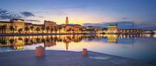 Panoramic View Of Split During Sunrise - Beautiful Croatia