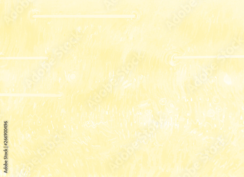 Fotografie, Obraz  Yellow pencil background with white paper texture