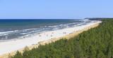 Fototapeta Fototapety z morzem do Twojej sypialni - Plaża w Dębkach, na pomorzu gdańskim