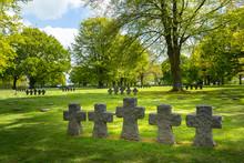 La Cambe German Military Cemetery.