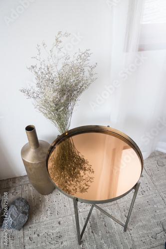 Fototapeta  Interior design multipurpose table in modern style