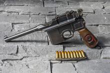 Pistolet Mauser 9 Mm Parabellum