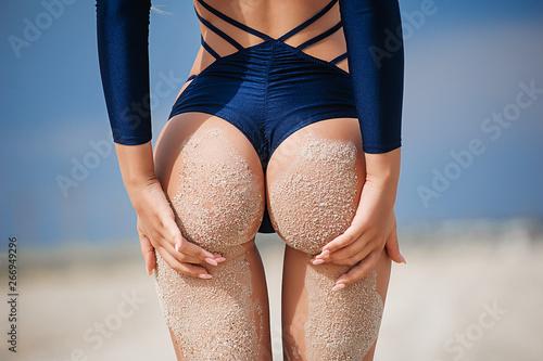 Women's beautiful ass