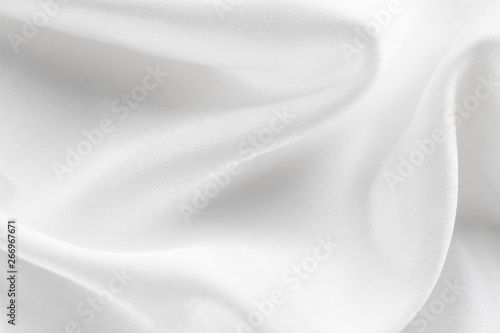 Fototapeta  white silk texture