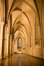 Vaulted Cathedral Ceiling And Window