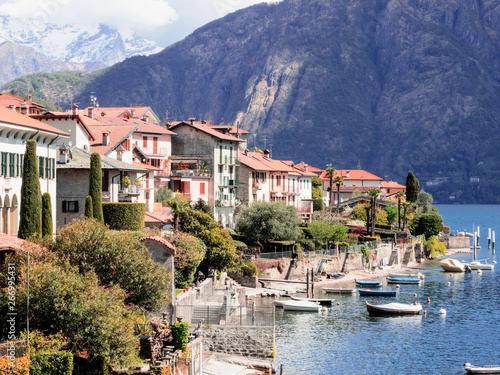 View Of Ossuccio An Ancient Fishing Village Overlooking The