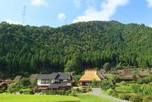 京都・田舎の風景, 美山, 農村, 日本