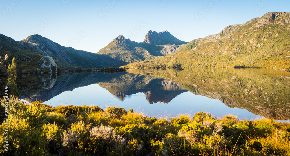 Fototapety, obrazy: Cradle Mountain and Dove Lake