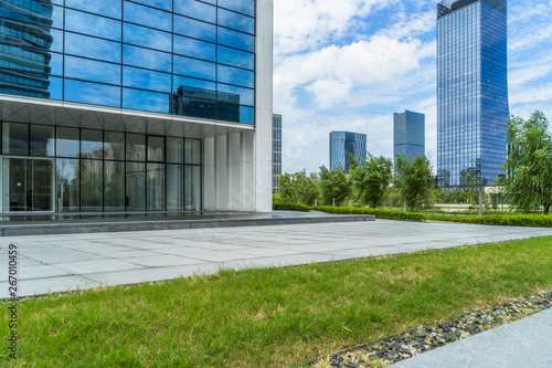 Fototapety, obrazy: modern office building outdoors in the downtown