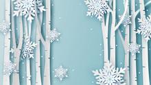 Illustration Of Winter Landsca...