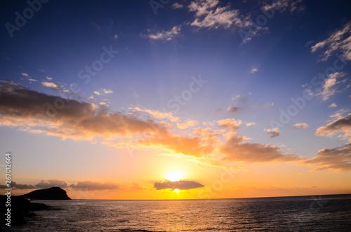 Fototapeta Tropical Sunset obraz na płótnie