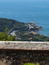 Aerial View Of Boccale Castle ...