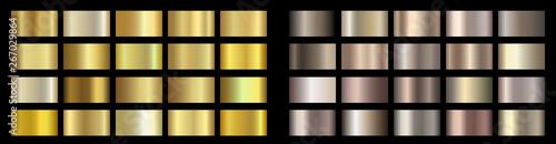 Photo  Gold, bronze, golden, metallic, copper metal foil texture gradient template