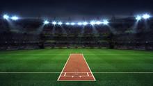 Illuminated Round Cricket Stad...