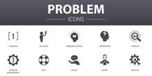 Problem Simple Concept Icons S...