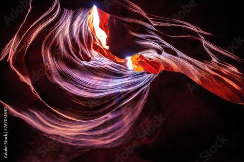 Foto op Aluminium Antilope Upper Antelope Canyon