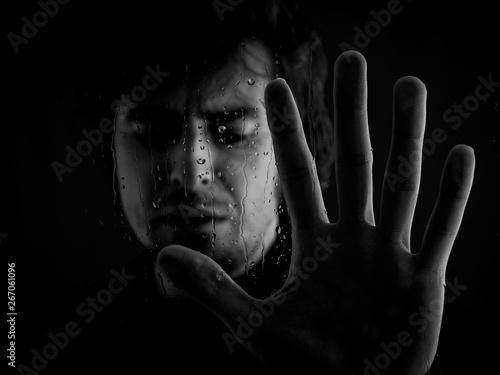 Fotografie, Obraz  Retrato de la tristeza