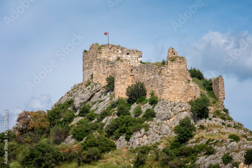 Remains Of Kastabala Castle, Osmaniye, Turkey Wallpaper Mural