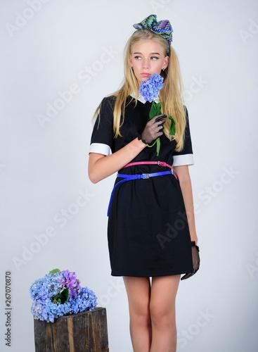 Photo Formal uniform elite school college or housemaid