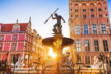 Poland, Gdansk, Famous Neptune...