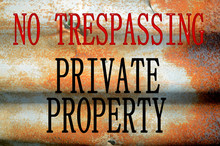 No Trespassing Private Propert...