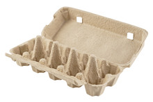 Empty Egg Carton, Box, Tray Or...
