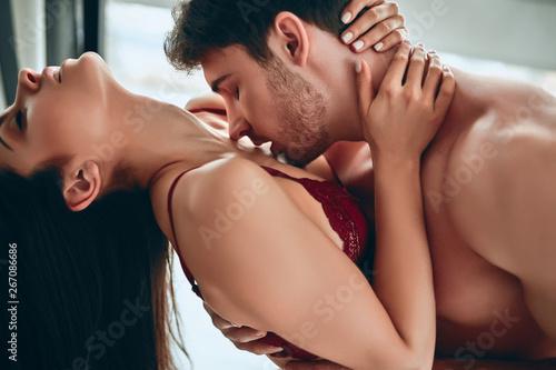 Photo  Passionate couple having sex