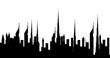 Skyline Dubai city